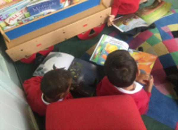 Reading at Sandfield