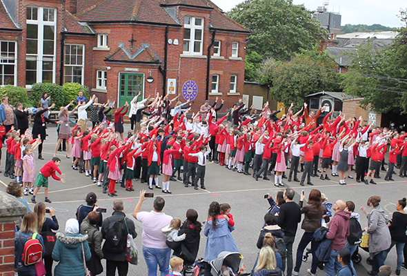 Flash Mob Sandfield