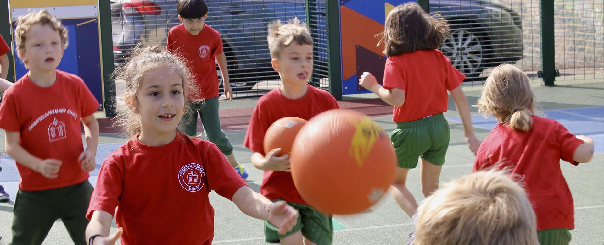 Sports at Sandfield Primary School