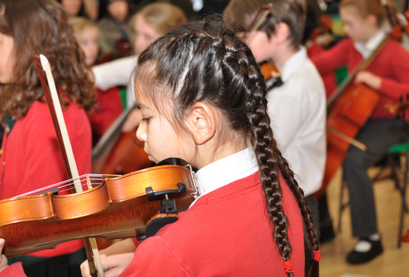Music concert at Sandfield