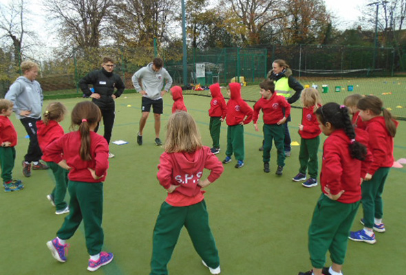 Physical Education at Sandfield
