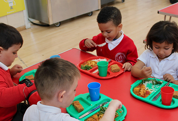 School meals at Sandfield